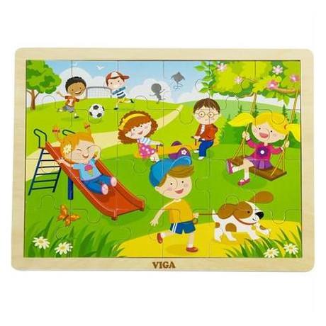 Пазл Viga Toys Времена года. Весна (51269)