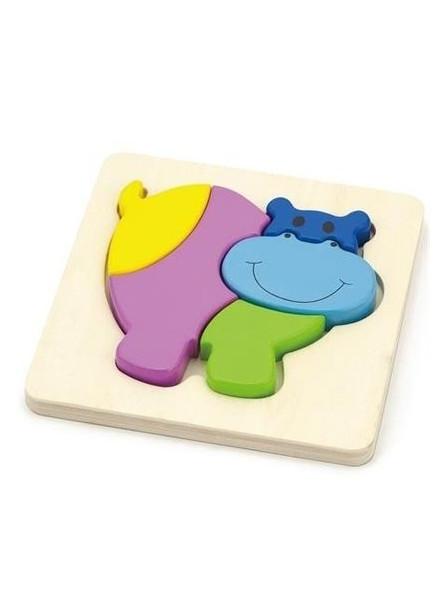 Пазл Viga Toys Бегемот (59932)