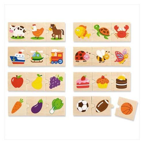Набор пазлов Viga Toys Категории (51608)