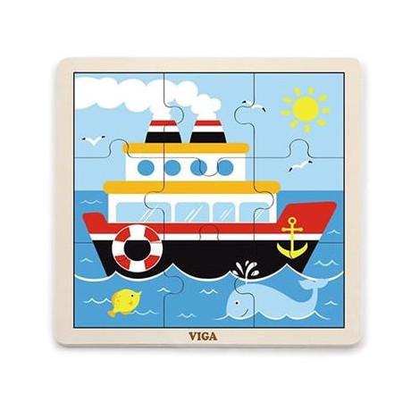 Пазл Viga Toys Корабль (51445)