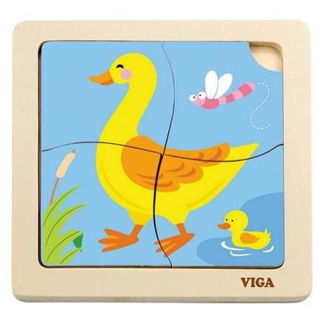 Пазл Viga Toys Утка (51314)