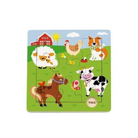 Пазл Viga Toys Ферма (50837)