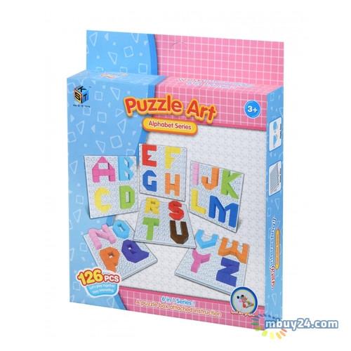 Пазл Same Toy Puzzle Art Alphabet 126 элементов (5990-3Ut)