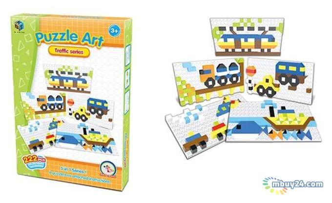 Пазл Same Toy Puzzle Art Traffic 222 элементов (5991-4Ut)