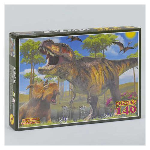 Пазлы Динозавры 140 элементов (П-14042)