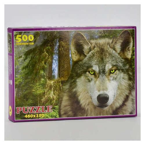 Пазлы Волк 500 элементов (П-50028)