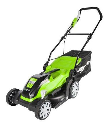 Электрическая газонокосилка Greenworks GLM1035 (2505107)