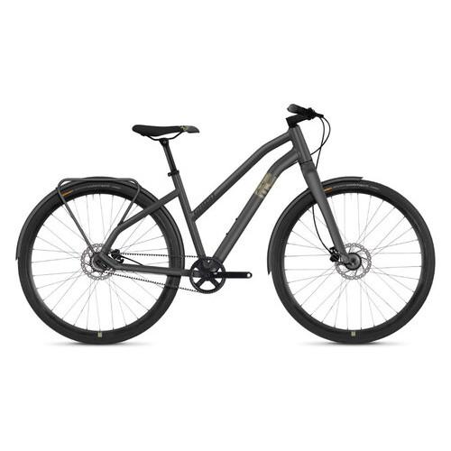 Велосипед Ghost Square Urban 3.8 28 , рама S, серо-коричнево-черный,  2019