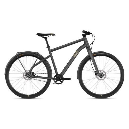 Велосипед Ghost Square Urban 3.8 28 рама M, серо-коричнево-черный, 2019