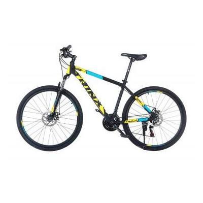 Велосипед Trinx Majestic M116Elite 2019 27.5 21 Matt-Black-Yellow-Blue (M116Elite.21MBYB)