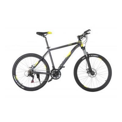 Велосипед Trinx M136 26х19 Matt-Grey-Yellow-Black (10030073)