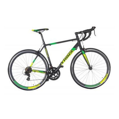 Велосипед Trinx Tempo 2.0 700C*500MM Matt-Black-Green (10030047)