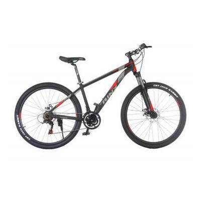 Велосипед Trinx Majestic M136Elite 2019 27.5 21 Matt-Black-Grey-Red (M136Elite.21MBGR)