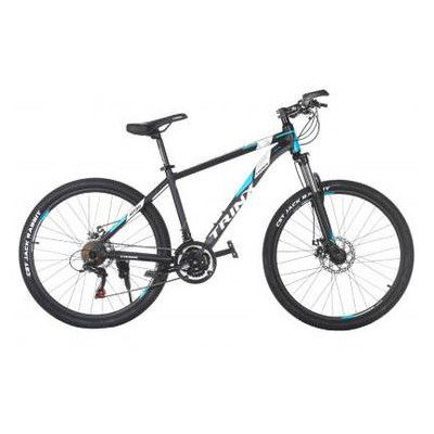 Велосипед Trinx M136 26х19 Matt-Black-Blue-White (10030093)