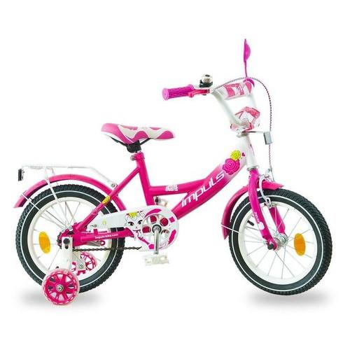 Велосипед Impuls Kids 14 малиновый