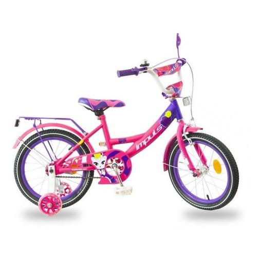 Велосипед Impuls Kids 16 малиново фиолетовый