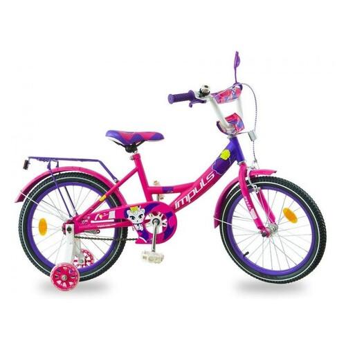 Велосипед Impuls Kids 18 малиново фиолетовый