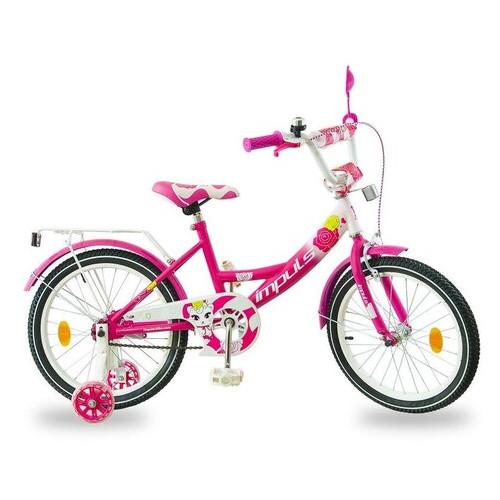 Велосипед Impuls Kids 18 малиновый