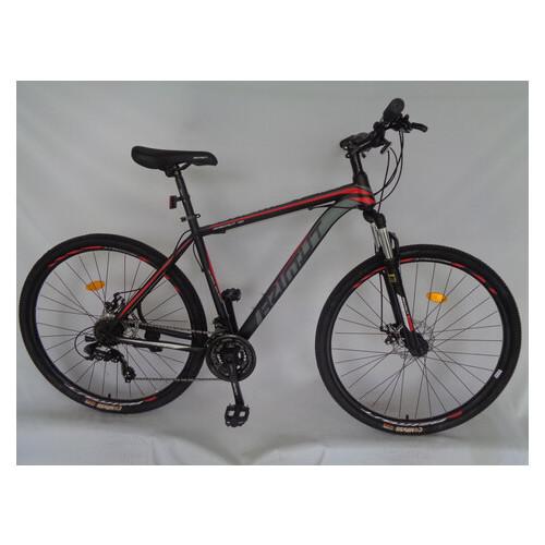 Горный велосипед Azimut 26 GD черно-красный