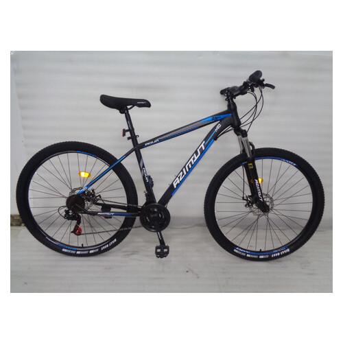 Горный велосипед Azimut Aqua 29 D+ черно-синий
