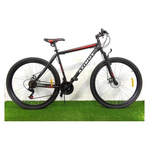 Горный велосипед Azimut Energy 29 GD+ (21 рама) Черно-красный