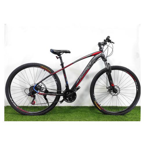 Горный велосипед Azimut Nevada 29 D черно-зеленый
