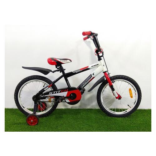 Детский велосипед Azimut Stitch 20-дюймов бело-красный