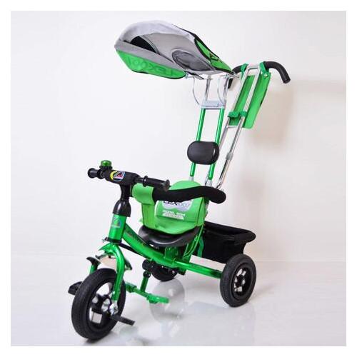 Велосипед детский трехколесный Lexus Trike Air колеса 10/8 зеленый