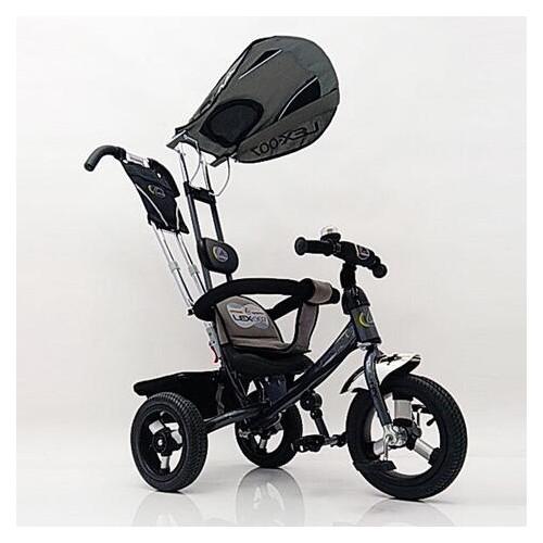 Велосипед детский трехколесный Lexus Trike Air колеса 12/10 серый