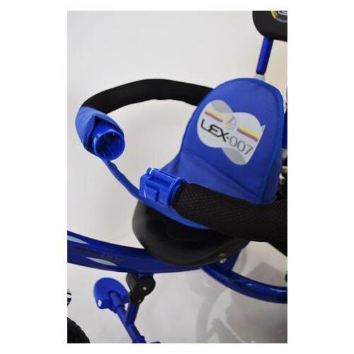 Велосипед детский трехколесный Lexus Trike EVA колеса 10/8 синий