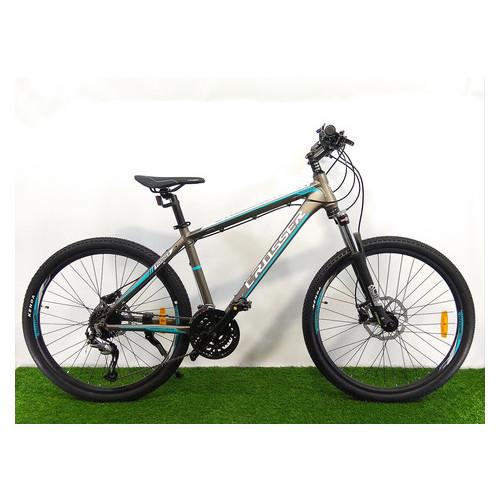 Горный велосипед Crosser Pionner 26 Серо-голубой