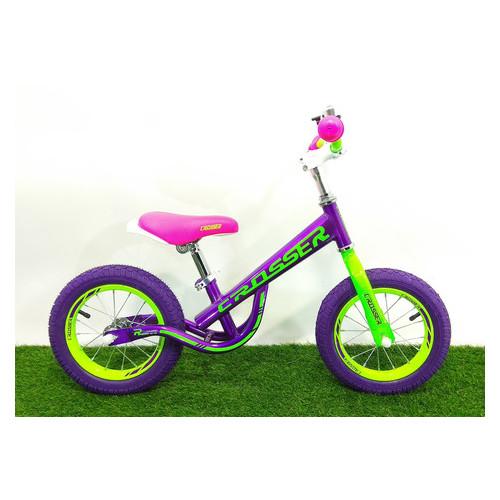 Беговел Crosser Balance bike NEW 14 Фиолетовый