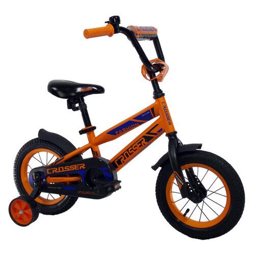 Детский велосипед Crosser JK-717 14 оранжевый