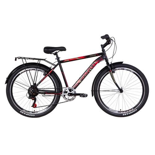 Велосипед 26 Discovery PRESTIGE MAN 2021 антрацитовый (OPS-DIS-26-357)