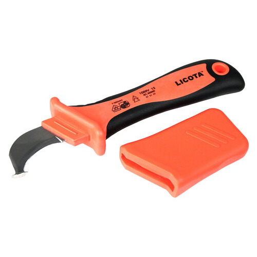 Нож электрика для снятия изоляции Licota VDE (AKD-V007)