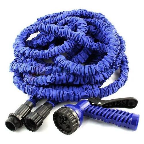 Шланг для полива Xhose 45 м с распылителем Blue
