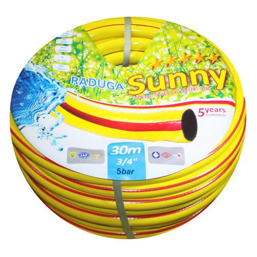 Шланг для полива Evci Plastik Sunny Радуга желтая 3/4 20 м