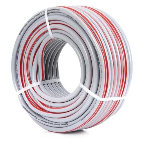 Шланг для полива 5-ти слойный 1/2, 50м, армированный PVC Intertool GE-4135