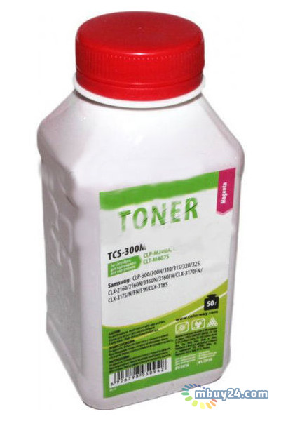 Тонер ColorWay (TCS-300M) Samsung CLP-300/310/320/325 Magenta, 50г
