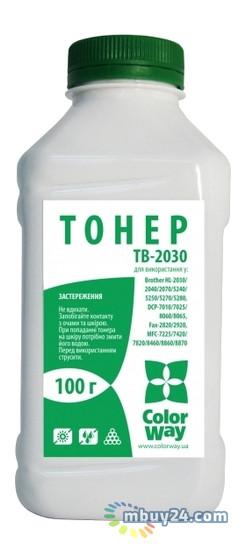 Тонер ColorWay для Brother HL-2040/2070 100 г (TB-2030)