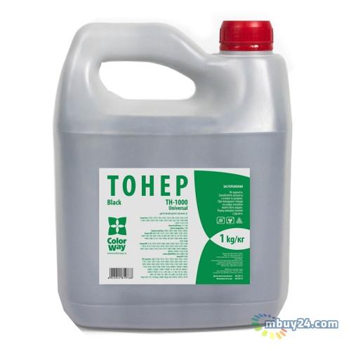 Тонер ColorWay для HP LJ 1000/1010/1200/2100/AX (1kg) Bottle (TH-1000-1B)