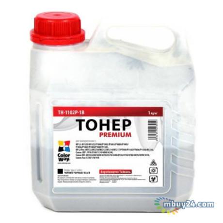 Тонер Colorway Premium HP LJ P1102/P1606/Canon 725/Canon 728 (1kg) (TH-1102P-1B)