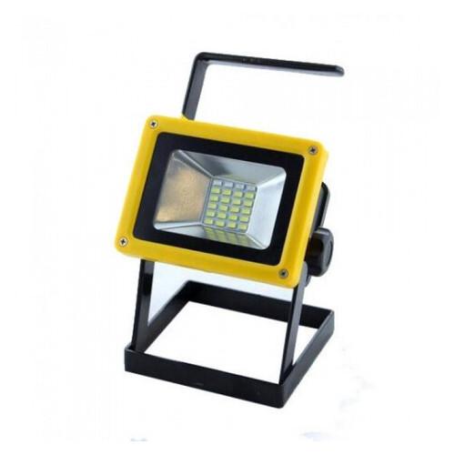 Ручной прожектор с полицейской мигалкой X-Balong 204, Черный/Желтый