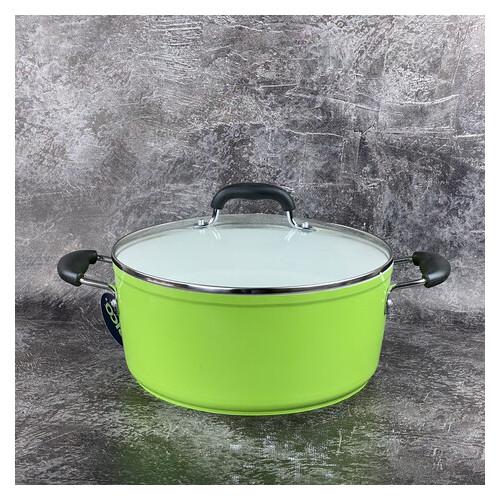 Кастрюля Frico FRU-363-green 6,3 л