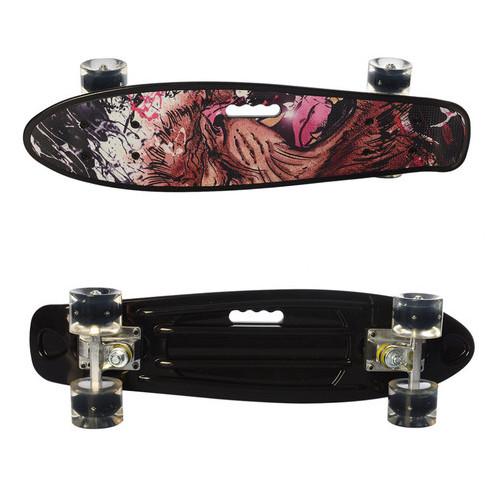 Скейтборд (MS 0749-6Black)