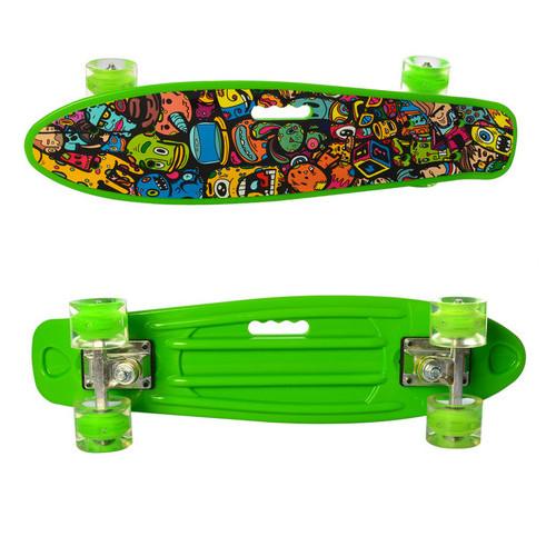 Скейтборд (MS 0749-6Green)