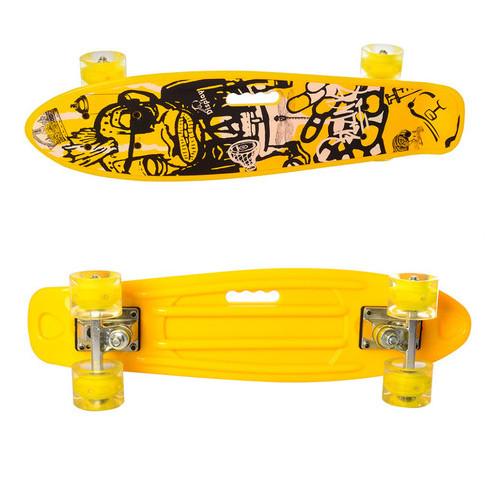 Скейтборд (MS 0749-6Yellow)