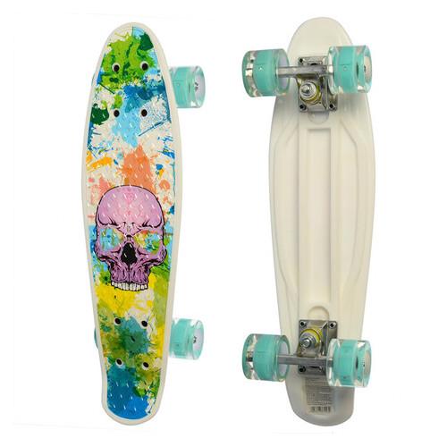 Скейт MS 0749-8 Белый