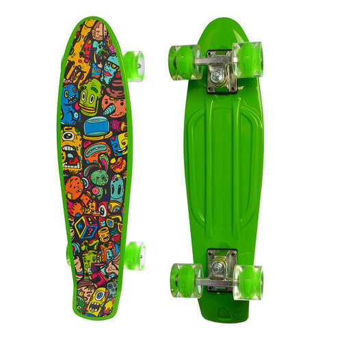 Скейт Profi зеленый (MS 0749-5)