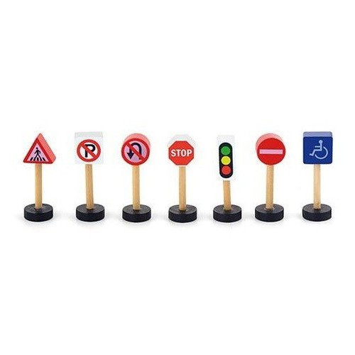 Игровой набор Viga Toys Дорожные знаки (50817)
